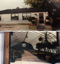 International Landscaping's first real office and greenhouse.