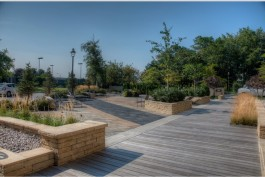 A beautifully designed and built landscape.